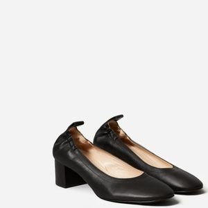 Everlane The Day Heel in Black